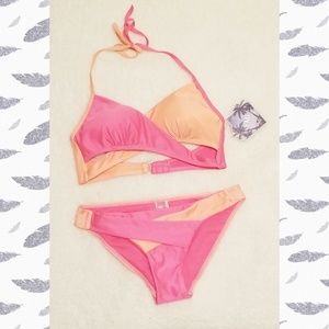 YMI Faux Wrap Bikini